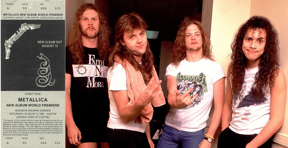 Metallica Black Album Party