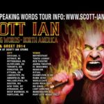 ANTHRAX Guitarist SCOTT IAN's 'Swearing Words' DVD Due In November